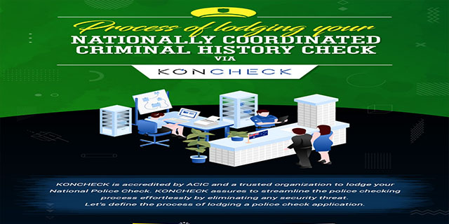 Process of Lodging a Nationally Coordinated Criminal History Check