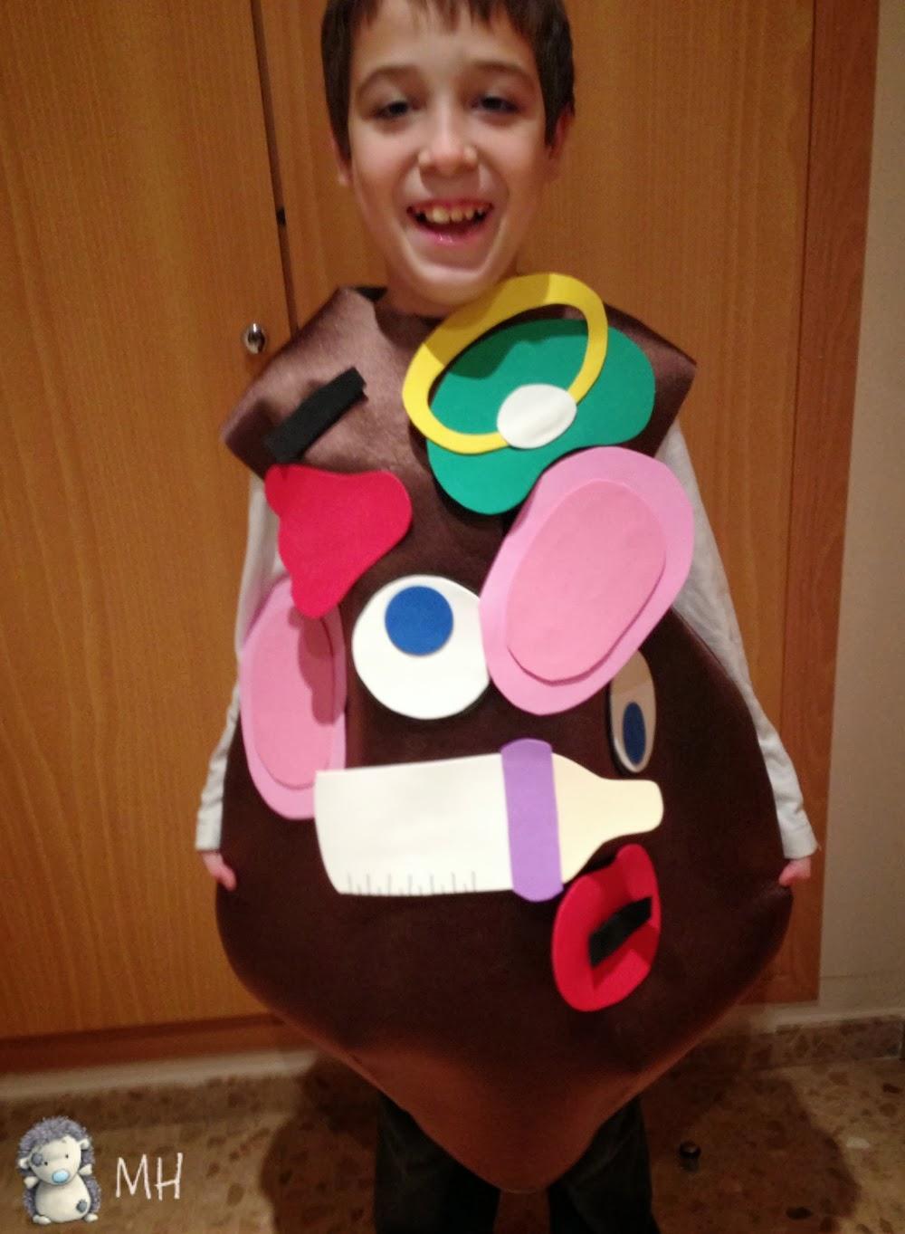 Disfraz de familia Potatoe