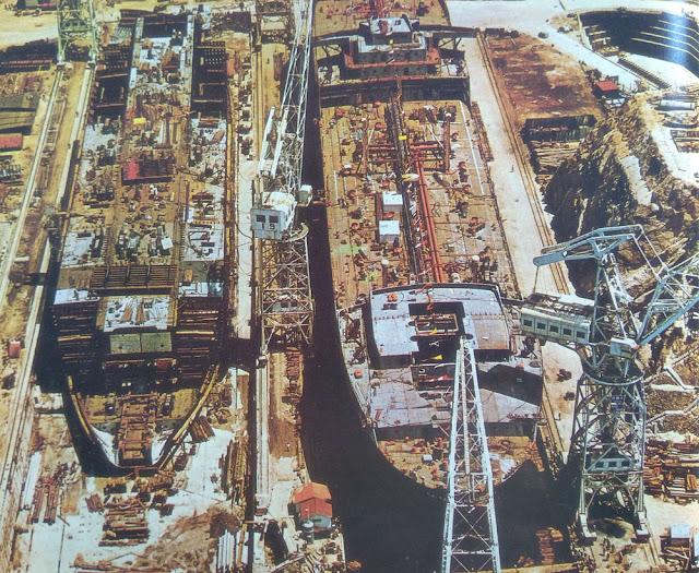 Foto Industri perkapalan di Jepang
