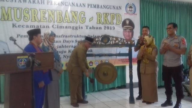 Musrenbang Kecamatan Cimanggis Fokus Pemberdayaan Masyarakat