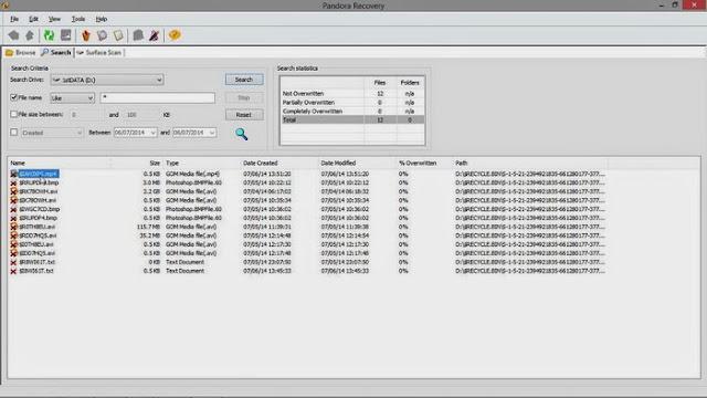 Cara Mengembalikan File / Data Yang Telah Dihapus Di Recycle Bin