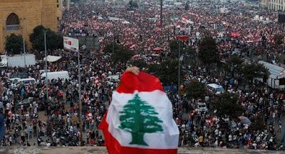 لبنان, المتظاهرونو رفض اصلاحات الحريرى, التمسك برحيل الحكومة,