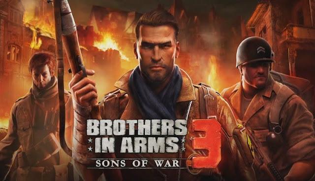 1) لعبة Brothers in Arms 3