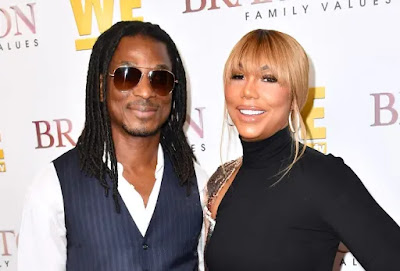 American reality TV star, Tamar Braxton specially thanked her Nigerian boyfriend David Adefeso for saving her life after she attempted suicide.
