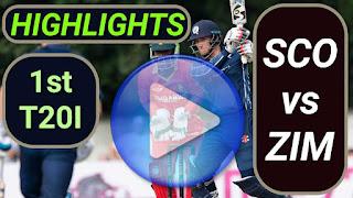 SCOT vs ZIM 1st T20I 2021