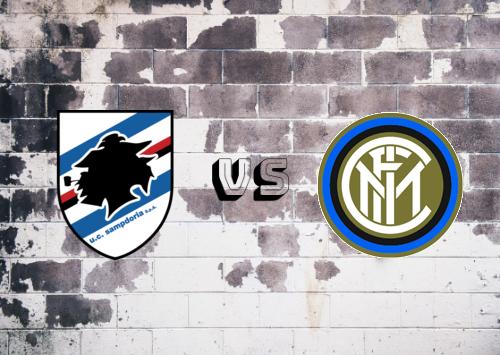 Sampdoria vs Internazionale  Resumen y Partido Completo