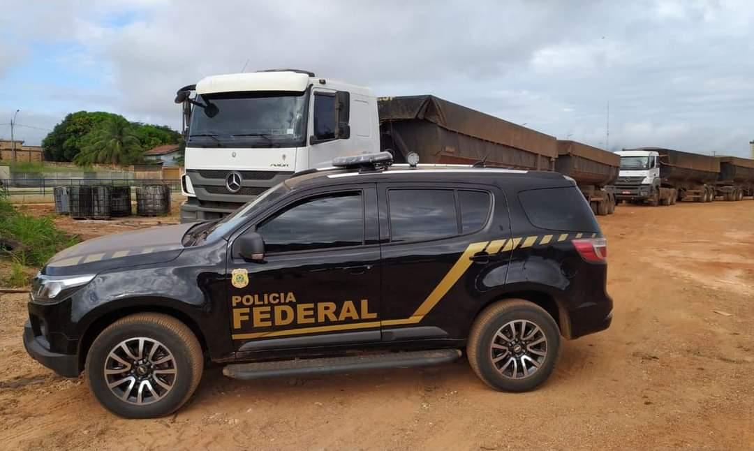 Pebão:Polícia Federal apreende 100 toneladas de minério irregular no Pará