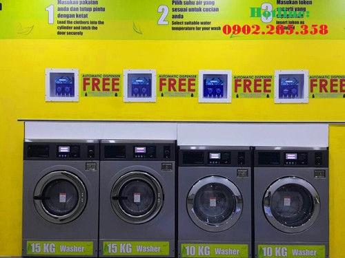 Máy giặt tính tiền tự động