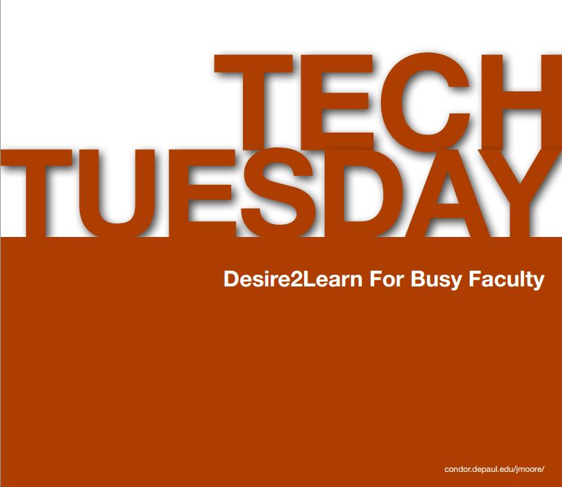 D2L Tech Tips