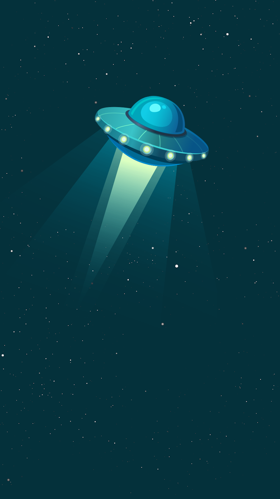 Minimalist ufo wallpaper
