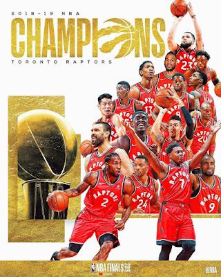 MAMBO MANNE YALIYOWAPA TORONTO RAPTORS UBINGWA WA NBA 2019