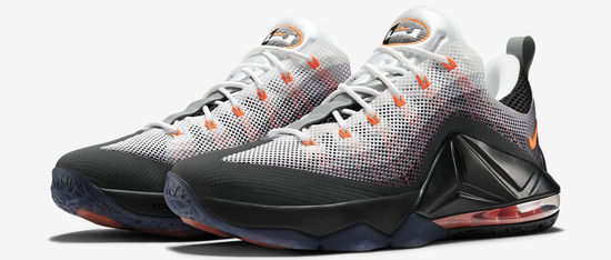 e7672bc570d1 ajordanxi Your  1 Source For Sneaker Release Dates  Nike Air Max  95 LeBron  12 Low Black Total Orange-White-Dark Charcoal Release Reminder