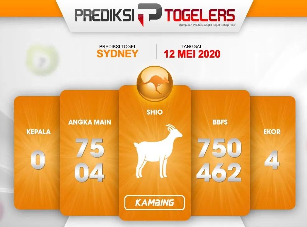 Prediksi Sydney Selasa 12 Mei 2020 - Prediksi Togelers