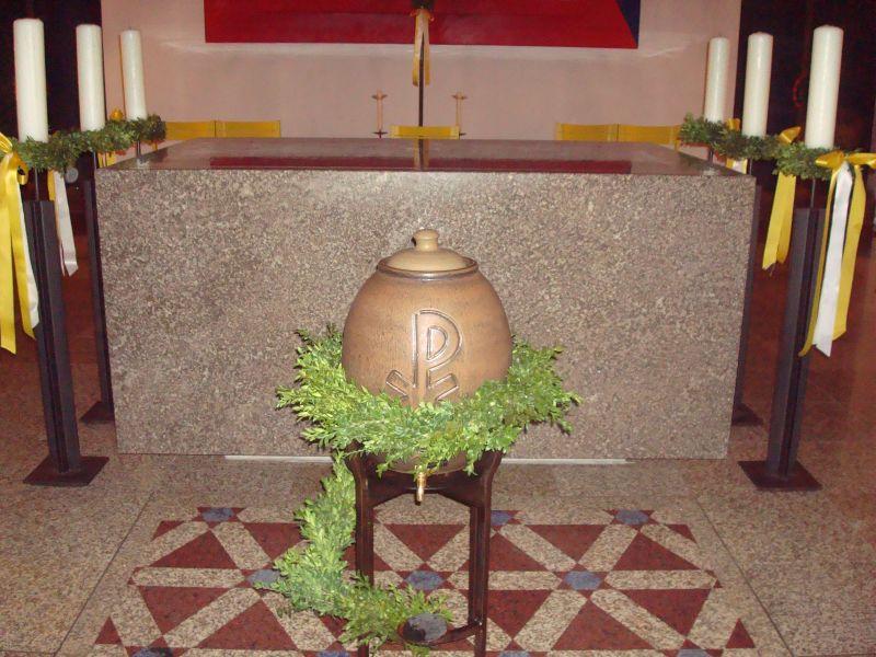 Blumenschmuck Im Kirchenjahr