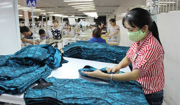 Apparel checking or inspection process in clothing industry