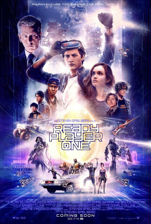 Back To The Past Ready Player One Fun But Dampened By Hollow Core And So Much Muchness
