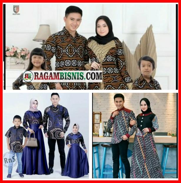 Baju Seragam Keluarga Lucu Batik