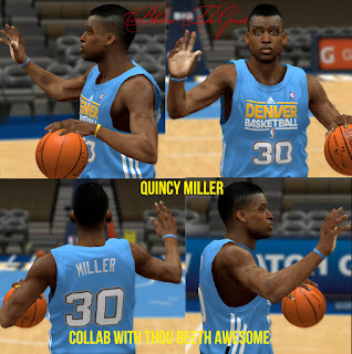 NBA 2K13 Quincy Miller Cyber Face Patch