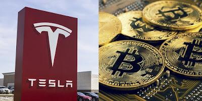 شركة تيسلا Tesla تستثمر في بيتكوين Bitcoin و قيمة العملة الرقمية ترتفع إلى رقم قياسي !