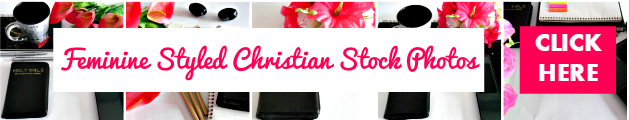 Feminine Styled Christian Stock Photos