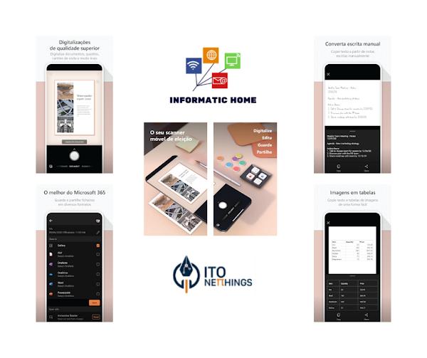 Microsoft Lens - Faça todo tipo de digitalizações com esta simples aplicação!!!
