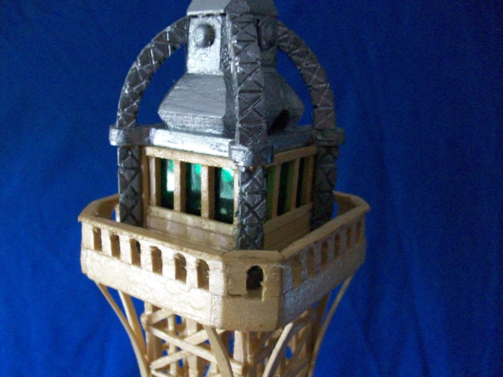 El mundo en palillos especial torre eiffel - Casa de madera de ocasion ...