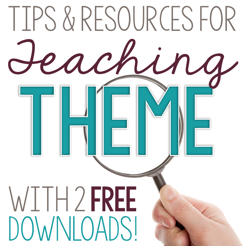 Teaching Theme: Tips and Resources - The Secondary English Coffee Shop [ 1028 x 1030 Pixel ]