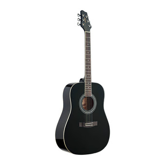 Đàn guitar Acoustic Stagg SW205BK (Dáng tròn)