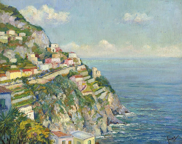 Edward Cucuel - On the Amalfi Coast