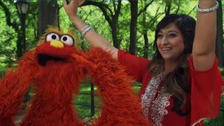 Murray talks with Pooja Narang about Bollywood Dance. Sesame Street Episode 4321 Lifting Snuffy season 43