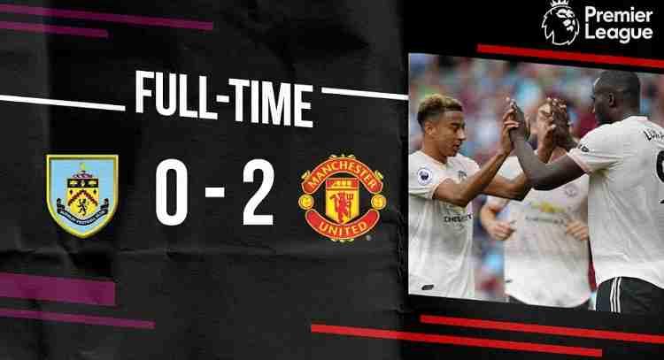 Hasil Burnley vs Manchester United Skor Akhir 0-2 [Premier League 2018]