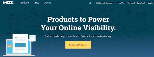 MOZ homepage