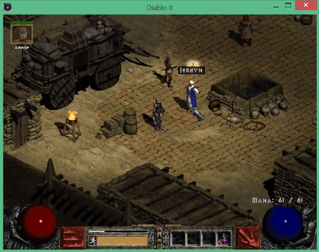 Lut Gholein | Diablo 2 Screenshot
