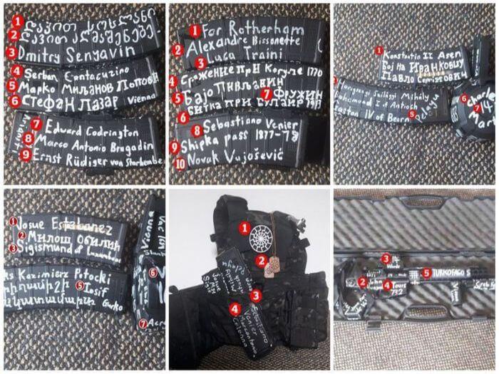 Maksud Tulisan Pada Senjata Pengganas Christchurch