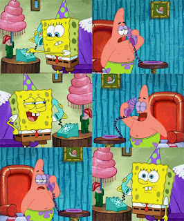 Polosan meme spongebob dan patrick 58 - spongebob dan patrick telepon an