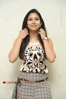 Actress Vanditha Stills in Short Dress at Kesava Movie Success Meet .COM 0104.JPG