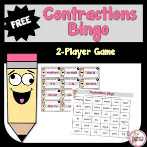 FREE Contraction Bingo