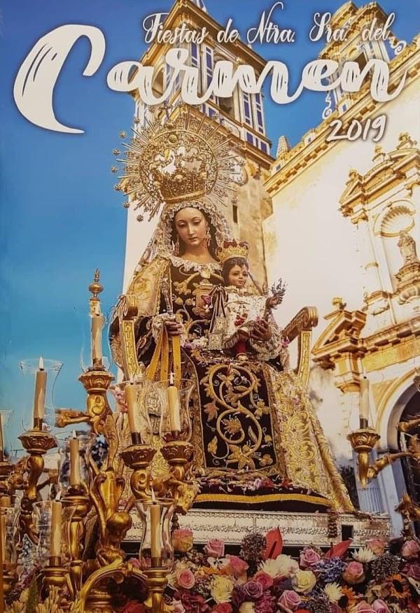 Cartel de la Procesión de las Virgen del Carmen de Chipiona