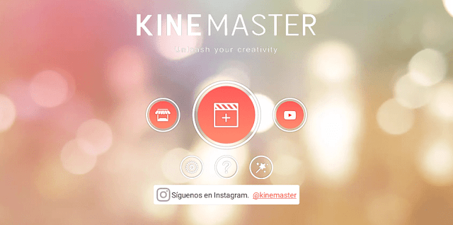 Editor de video KineMaster Android