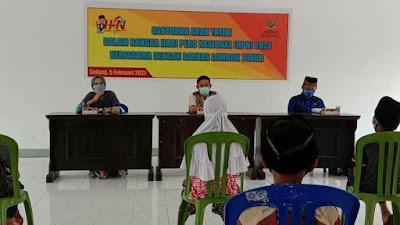 Wartawan Lotim Rangkai Peringatan HPN 2021 Dengan Santunan Bersama Baznas