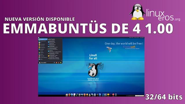 Emmabuntüs Debian Edition 4 1.00, basado en Debian 11