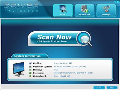 Screenshot Driver Navigator Professional 3.6.9.41369 Full Version