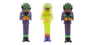 Craig Gleason's The Ghoul Ecto-Glow & Grave Digger Painnted Edition Vinyl Figures by Justin Ishmael