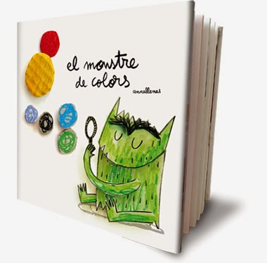 Llibre infantil imprescindible El monstre de colors