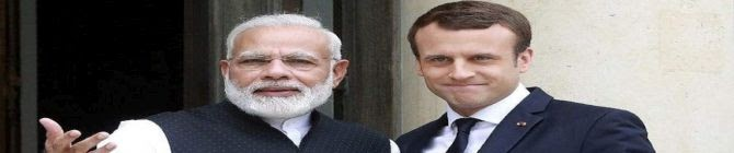 Macron, PM Modi Discuss Cooperation In Indo-Pacific Amid Subs Row