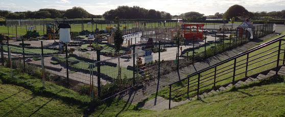New Adventure Golf course at Fairhaven Lake in Lytham Saint Annes