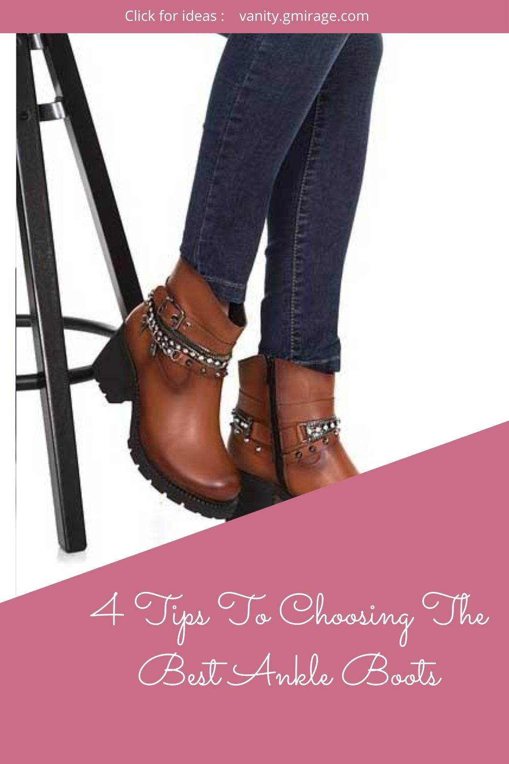 4 Tips To Choosing The Best Ankle Boots
