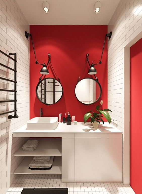 small apartments that rock uncommon color schemes with floor plans