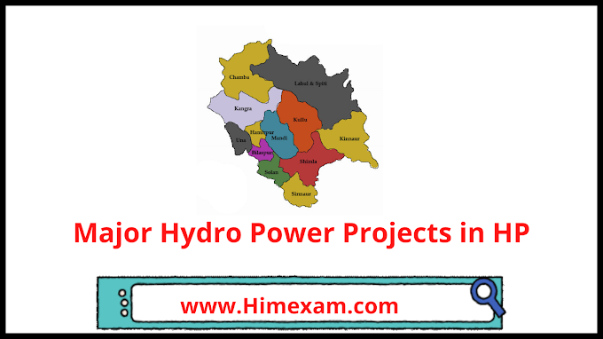 Major Hydro Power Projects in HP
