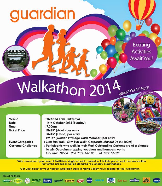Guardian Walkathon 2014 Walk For A Cause